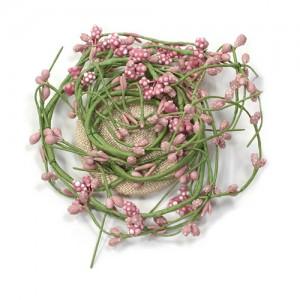 Haarclip Blütenranke