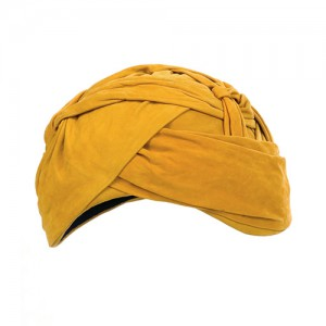 Turban aus Ziegenvelour