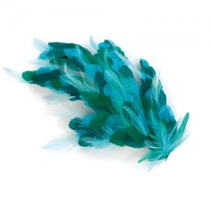 Haarclip mit Federn